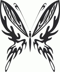Butterfly Vector Art 023 Free Vector