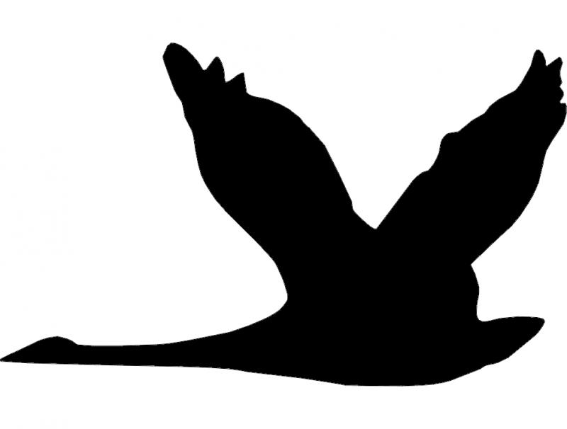 Ganso 3(Goose) dxf File