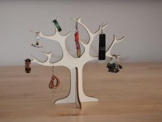 Tree Ring Holder dxf File