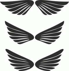 Free Wing Vector CDR File