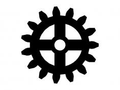 Gear dxf File