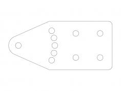 angle-mount-vernier dxf File