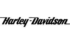 Harley Script dxf File