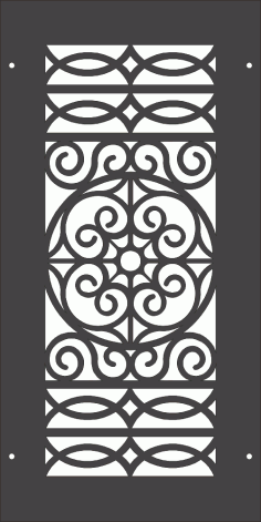 Seamless Classic Pattern DXF File