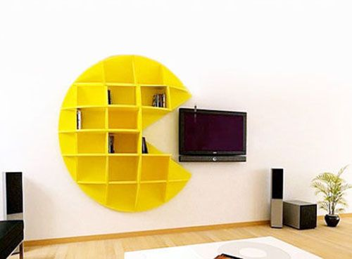 Pacman Shelf CDR File