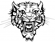 Tiger Head Vector Free Vector
