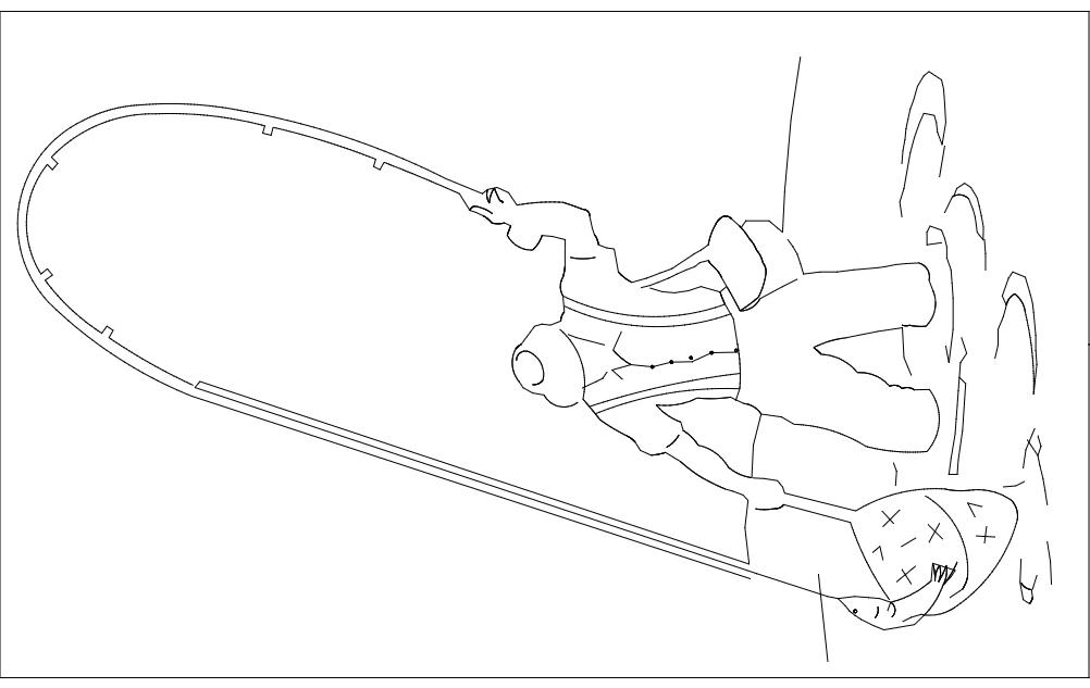 Fishing dxf File