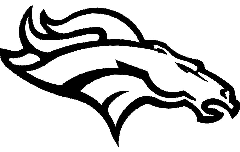 Denver Broncos dxf File