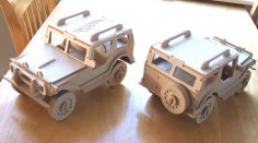 Utility Truck 4.75mm dxf File