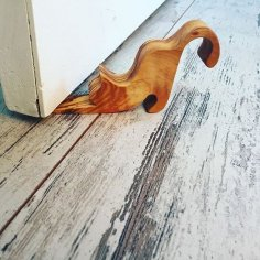 Cat shaped door wedge