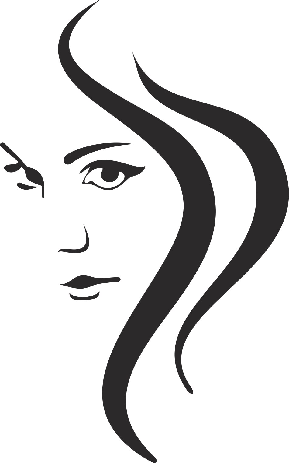 Woman Silhouette Free Vector