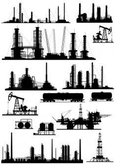 Industries Free Vector