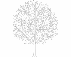 Tree dxf File