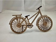 Laser Cut Wooden Bike Bicycle DXF File