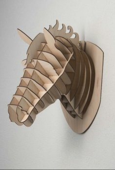 Laser Cut Horse Head Wall Decor Free Vector