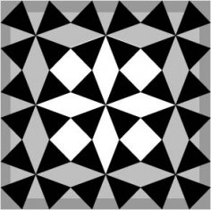 Seamless Arabesque Design Ai File