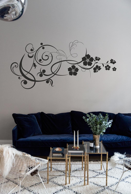 Laser Cut Flowers Wall Art Home Decor Free Vector