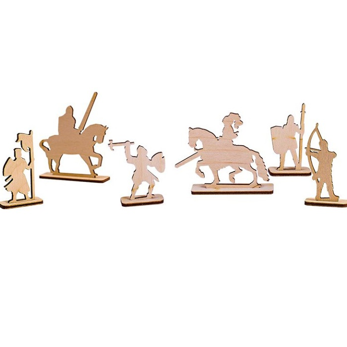 Laser Cut Army Toy Soldiers Miniature Figures Free Vector