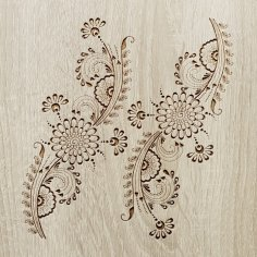 Indian Ornament DXF File