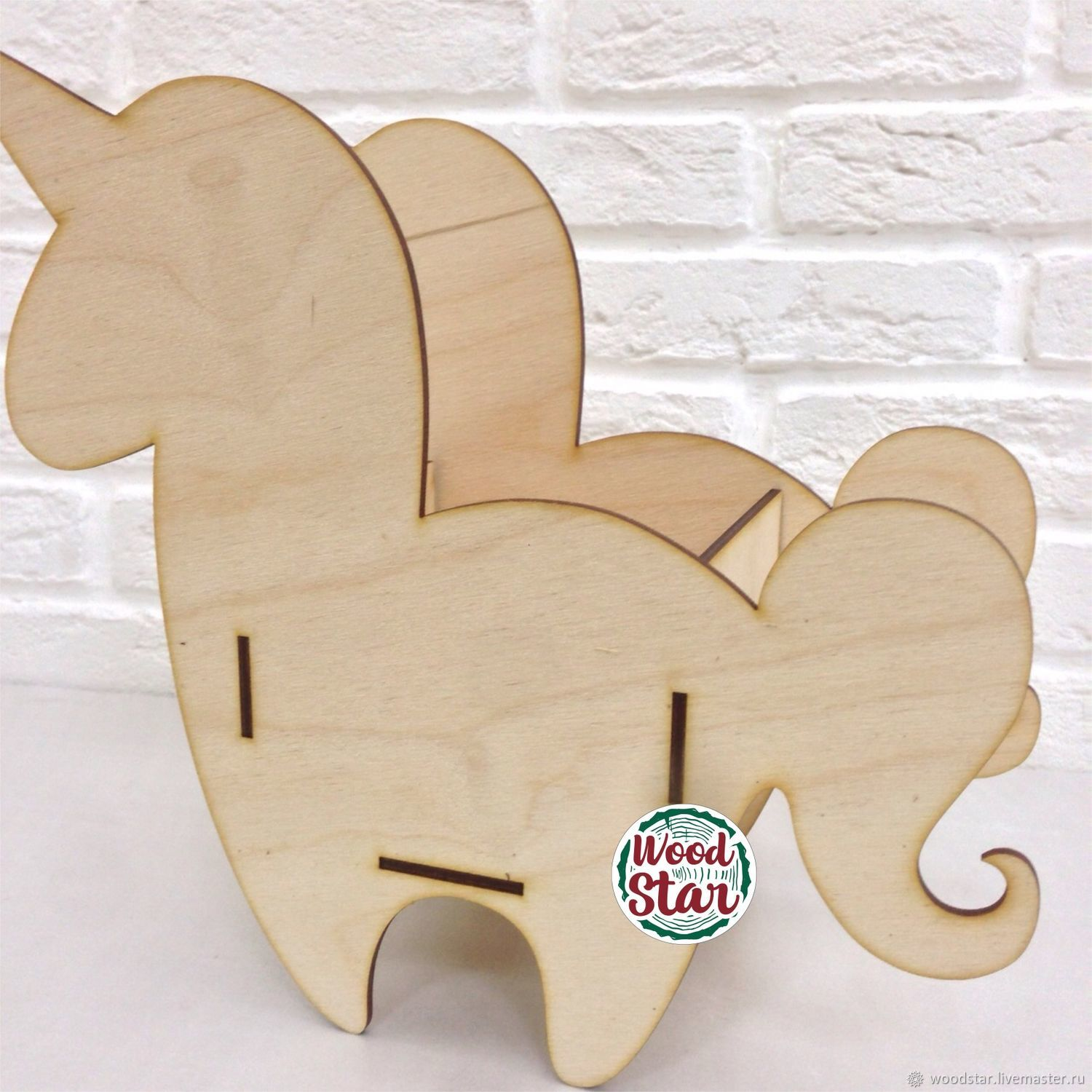 Laser Cut Unicorn Pencil Holder Organizer Flower Box Free Vector