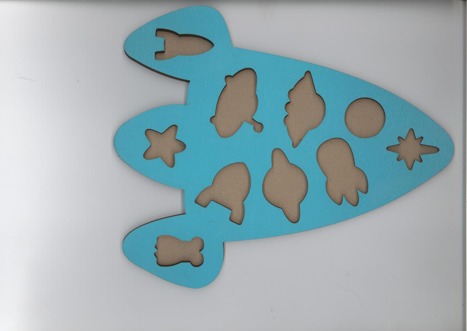 Laser Cut Shapes Puzzle Wooden Educational Toys For Kids Free Vector
