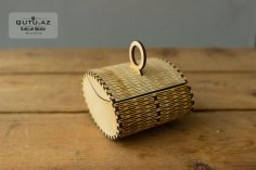 Laser Cut Wooden Special Gift Box 3mm Free Vector