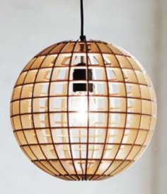 Pendant Light Laser Cut DXF File