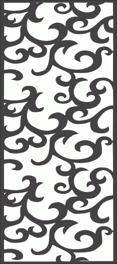 Decor Screen Pattern Vector Free Vector