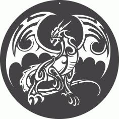 Dragon Tribal DXF File