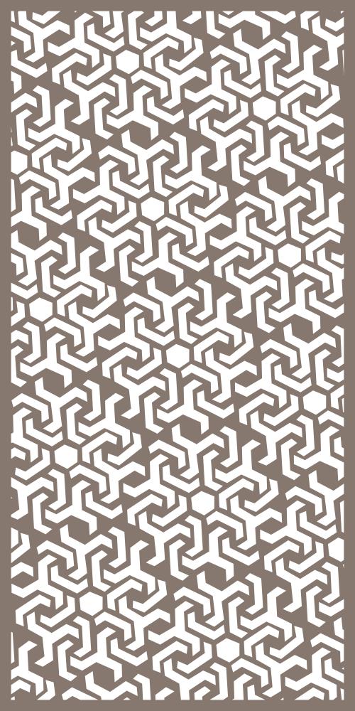 Geometric Decorative Panels Pattern Free Vector