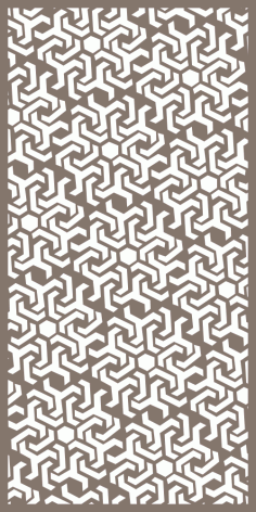 Geometric Decorative Panels Pattern Free Vector