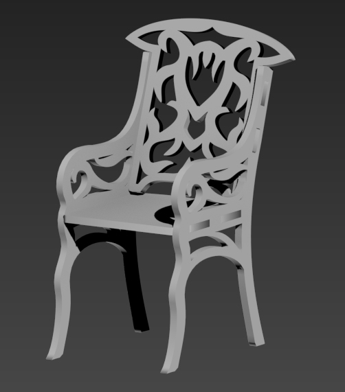 Stul Chair dxf file