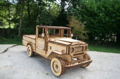 Laser Cut Toyota Land Cruiser BJ44 Template PDF File