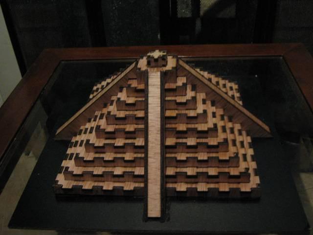 Laser Cut Pyramid Template Free Vector