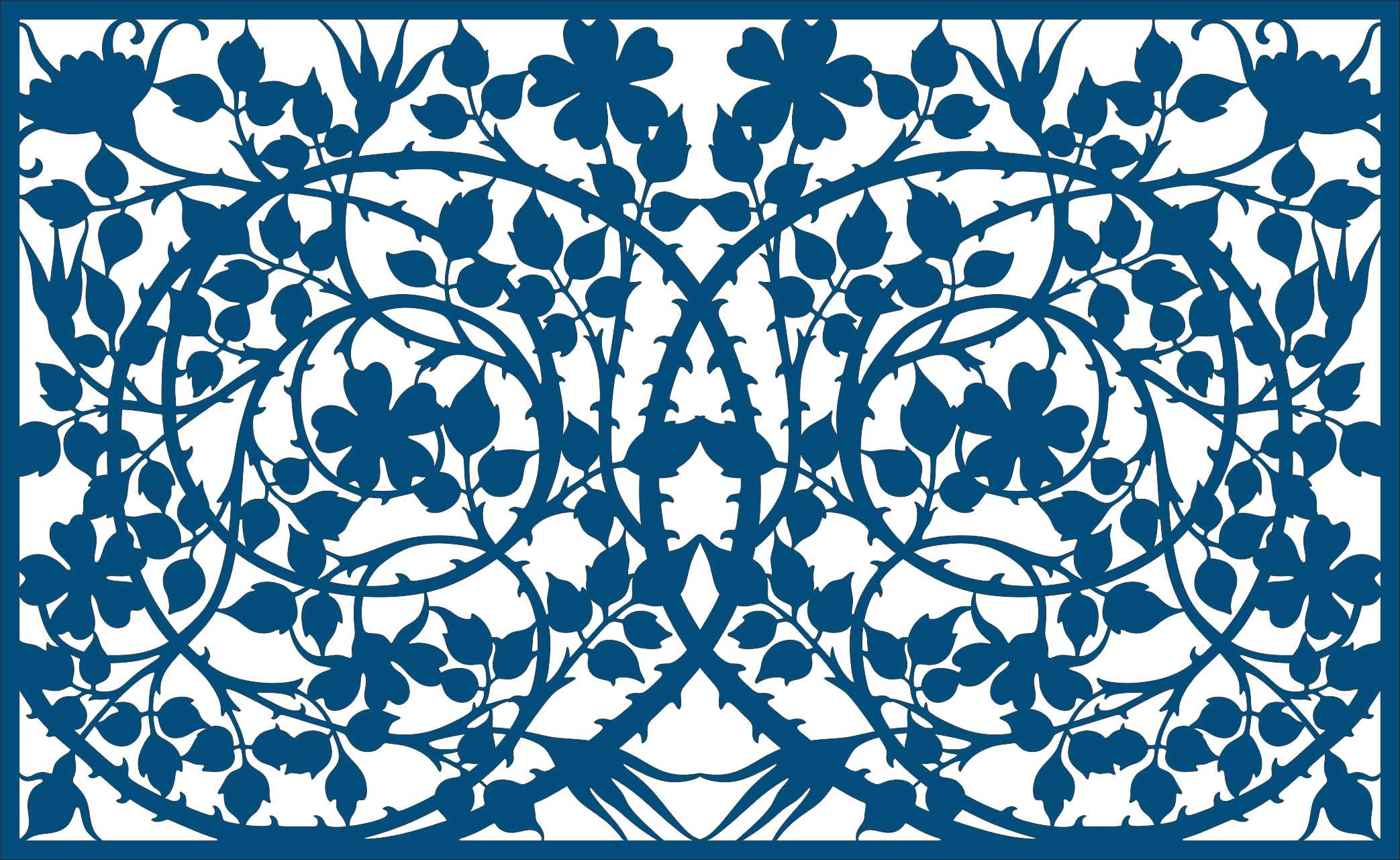 Picture Rosehip Pattern Free Vector