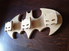 Laser Cut Batman Hanger Coat Rack Free Vector