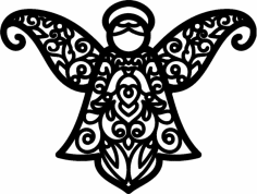 Angel Pattern dxf File