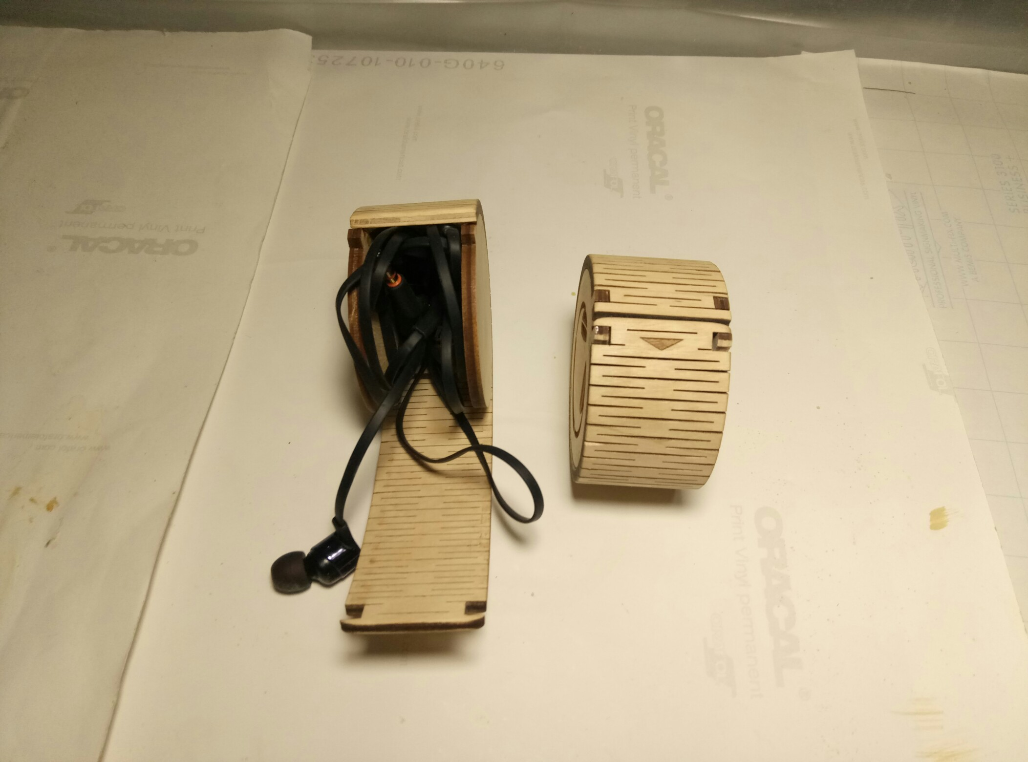 Earphone Case 4mm Laser Cut