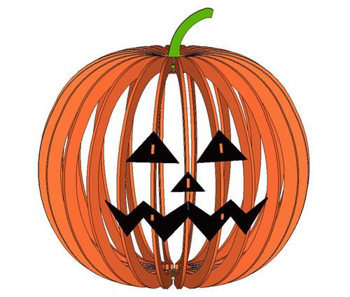 Halloween Lamp 2 Free Vector