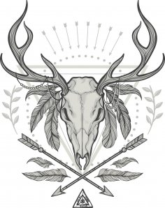 Deer Shaman Print
