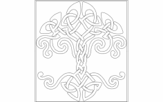 Celtictree dxf File