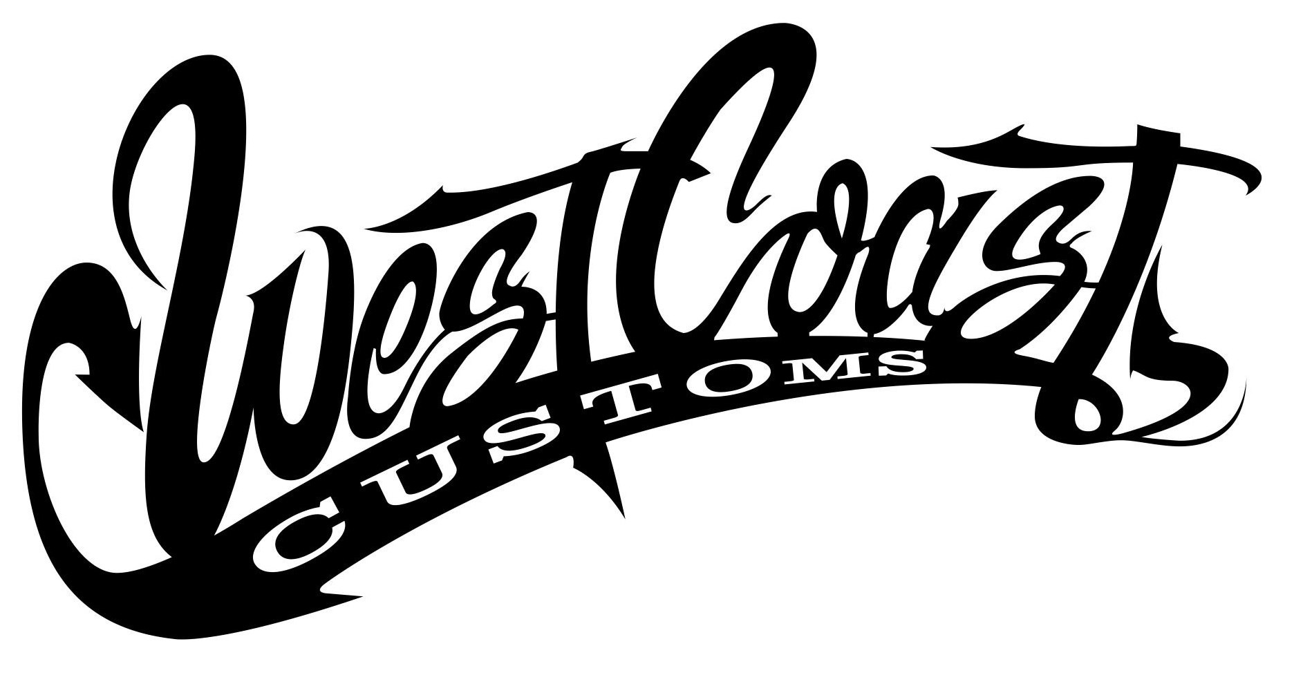 West Coast Customs Logo Vector CDR File
