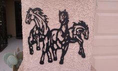 Horses dxf File