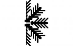 Snowflake C dxf File