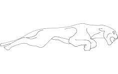 Jaguar dxf File