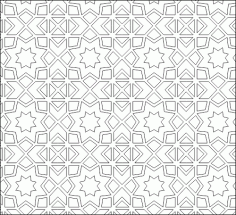 Geometric Pattern DWG File