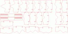 3D Landschaft DXF File