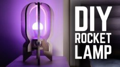 Diy Rocker Lamp Plan Laser Cut PDF File