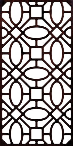 Partition Wall Pattern 300-v2 dxf File