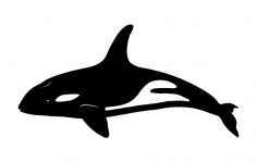 Killer whale dxf File